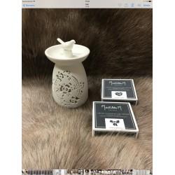 """Brûle parfum Oiseau""""Mathilde M"""""""