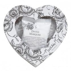 Boîte de 9 galets cœurs effervescents pour le bain - Marquise