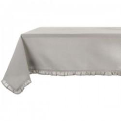 """Nappe de table """"Taupe"""" 300x150cm"""