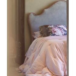 Couvre lit rose : 180x260cm