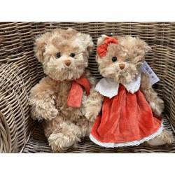 Couple d'ours «Clever et Fabienne»