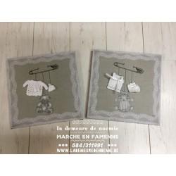 Duo toiles Garçon/Fille